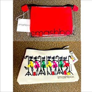 Bundle of 2 Smashbox Makeup Bags